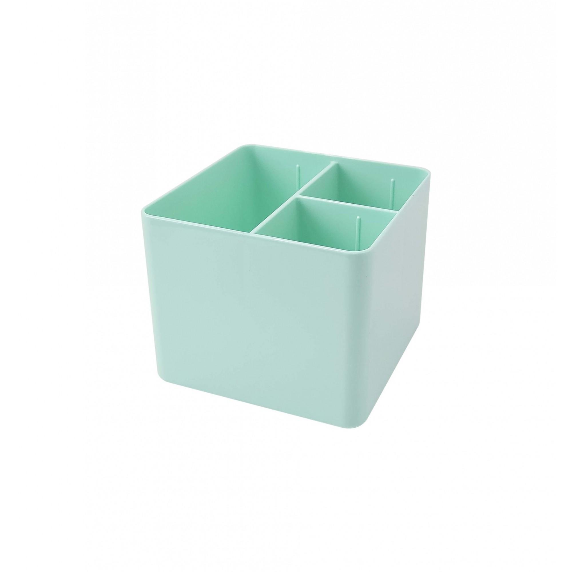 Porta Objetos 3 Divisorias Dello Verde Pastel 3020.Vp.0006 29654