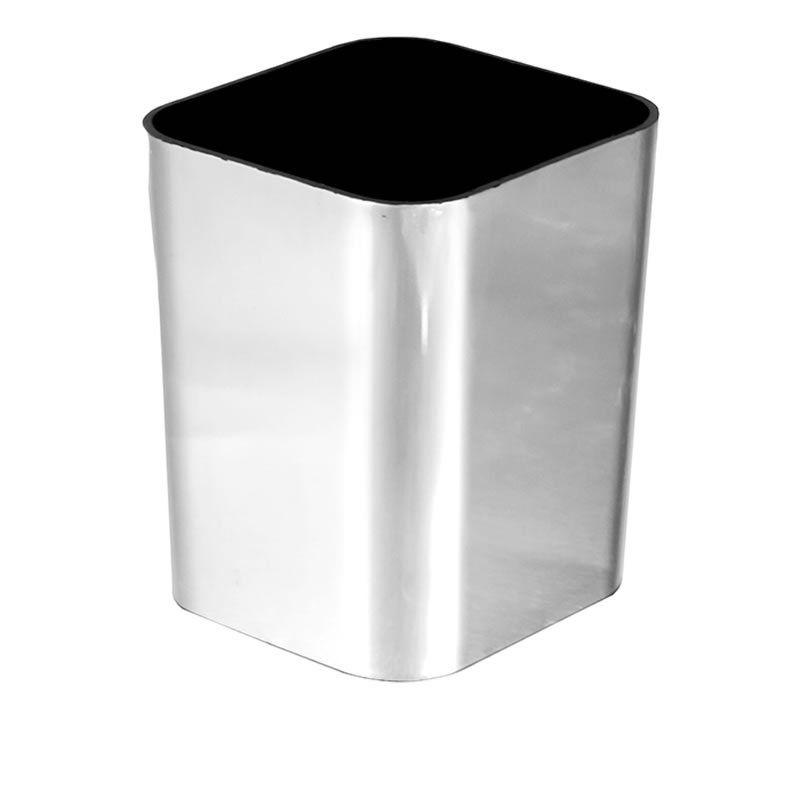 Porta Objetos Dello Metalizado Prata 3029.O.0012 27142
