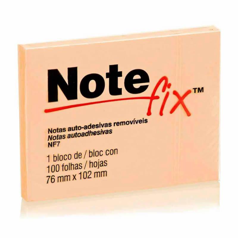 Notefix 76mm X 102mm 100 Fls. Laranja 3M 03903
