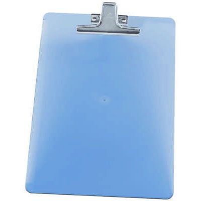 Prancheta Acrimet Acrilica Azul Oficio  Prendedor Metal 151.2 25313
