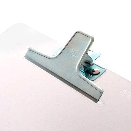 Prancheta Acrimet Acrilica Oficio Prendedor Metal 930 Cristal 18022