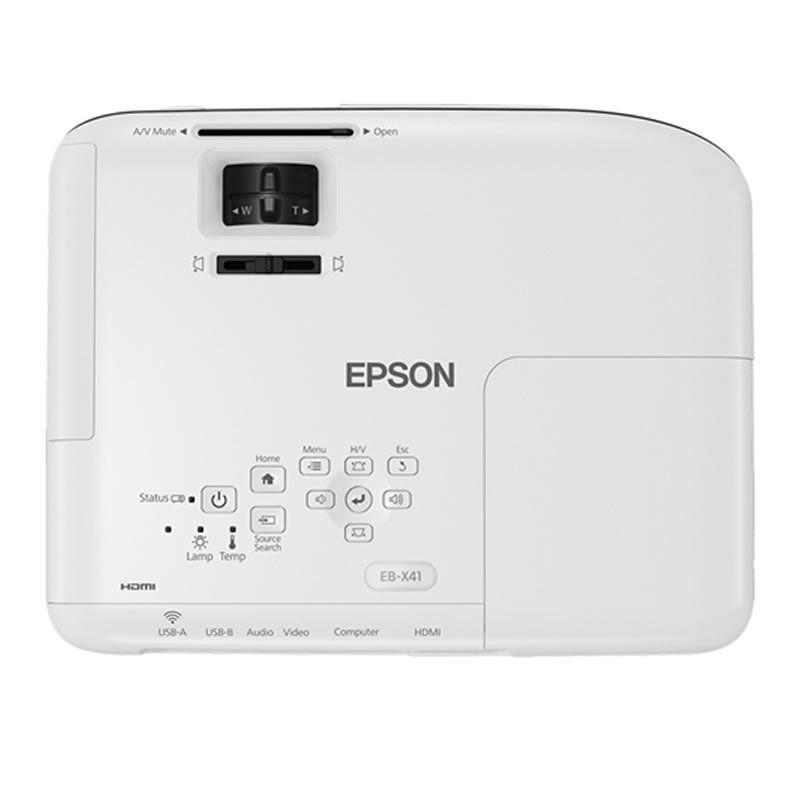 Projetor Epson Powerlite X41+ 3600 Lumens HDMI USB WIFI 26127