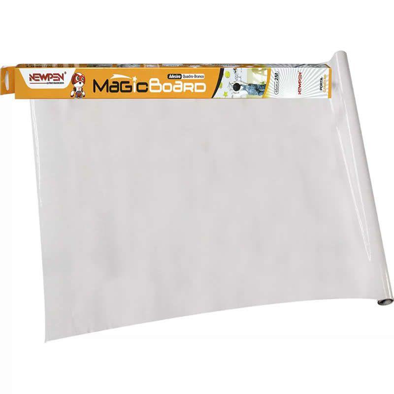 Quadro Adesivo Branco 45mm X 2m Magic Board Newpen 12713 27348