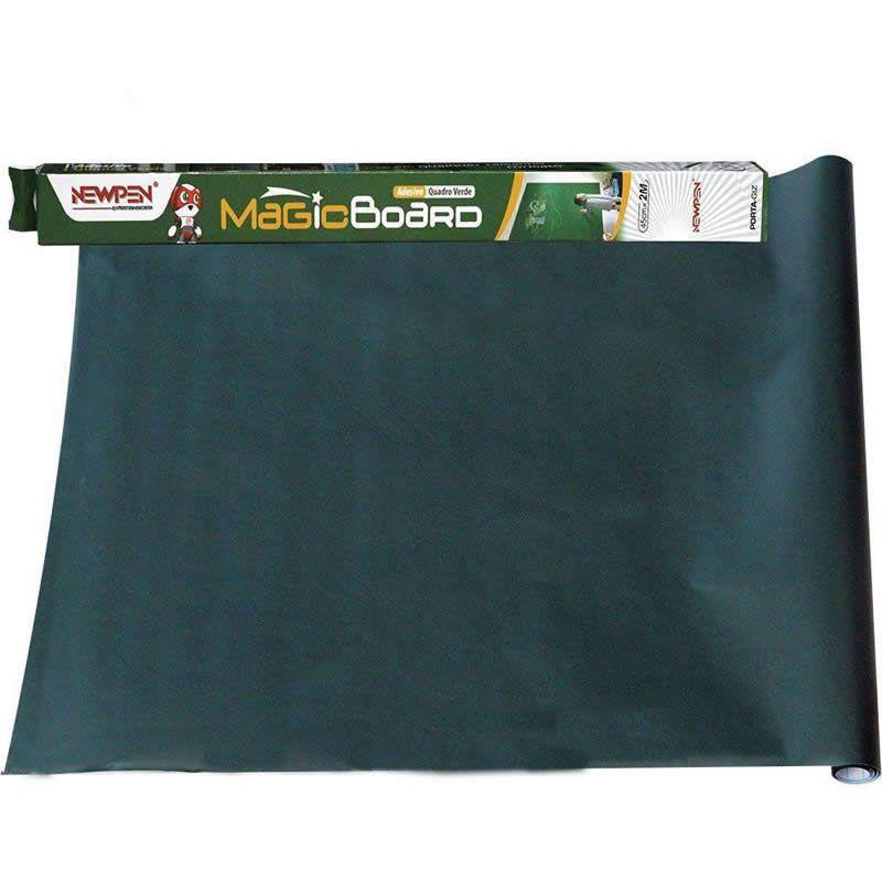 Quadro Adesivo Verde 45mm X 2m Magic Board Newpen 12706 27347