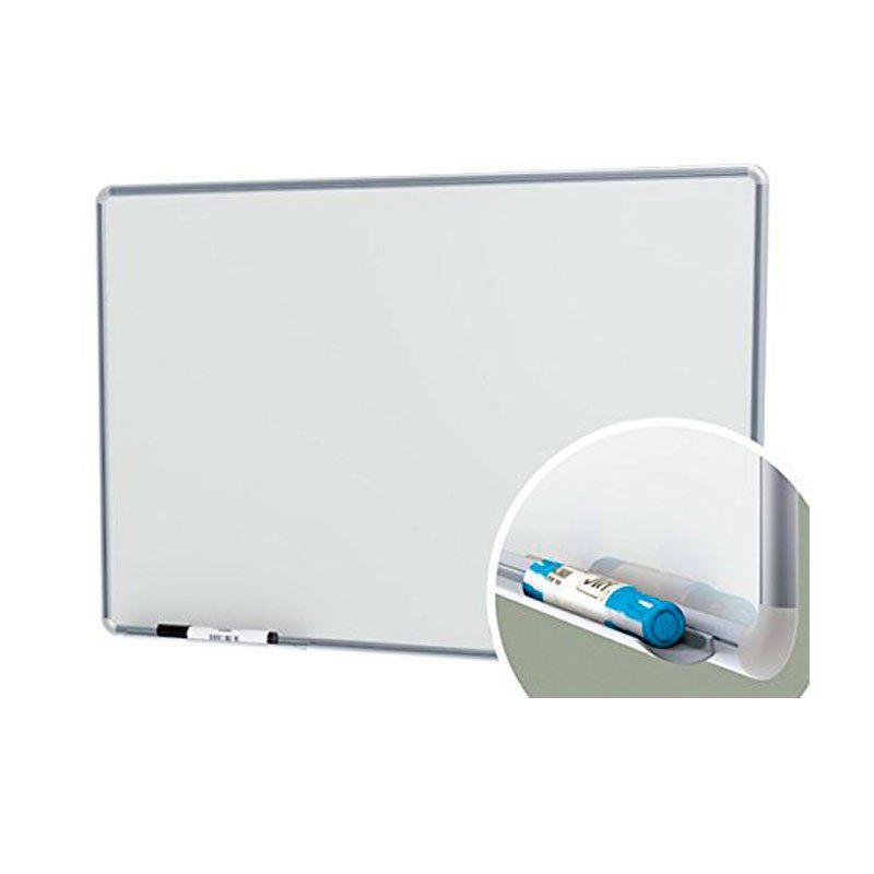 Quadro Branco 60X40Cm Com Cantoneira Alumínio Stalo 9121 07578