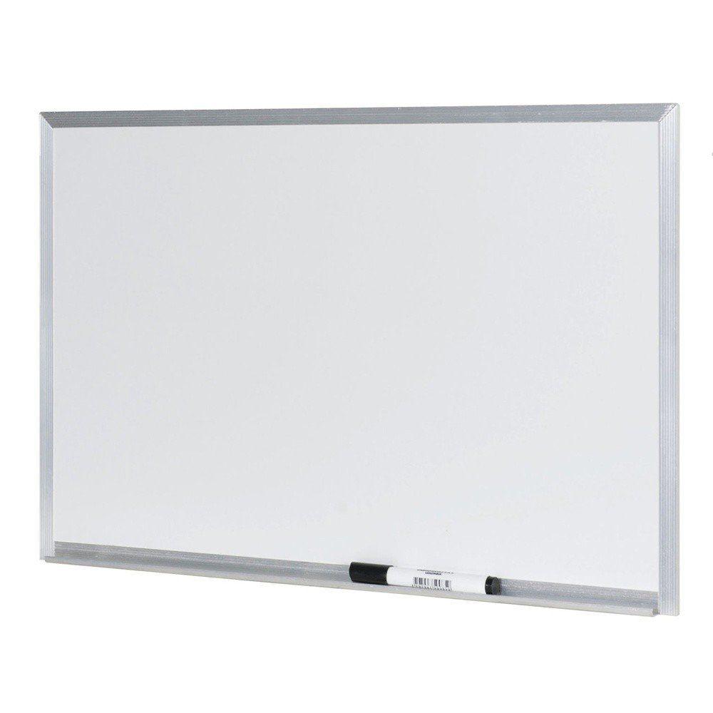 Quadro Branco Stalo 100X70Cm Aluminio S/ Cantoneira 9123 07580