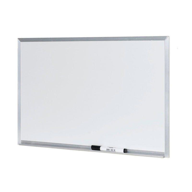 Quadro Branco Stalo 120X90Cm Alumínio S/ Cantoneira 9124 07581