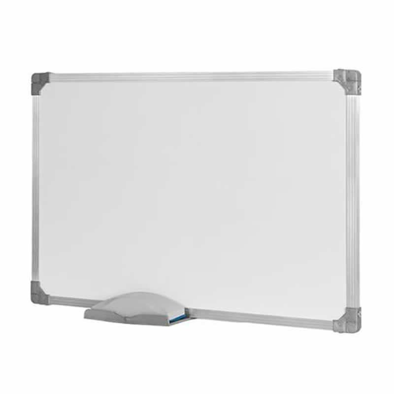 Quadro Branco Stalo 200X120Cm Alumínio com Cantoneira 9389 10864
