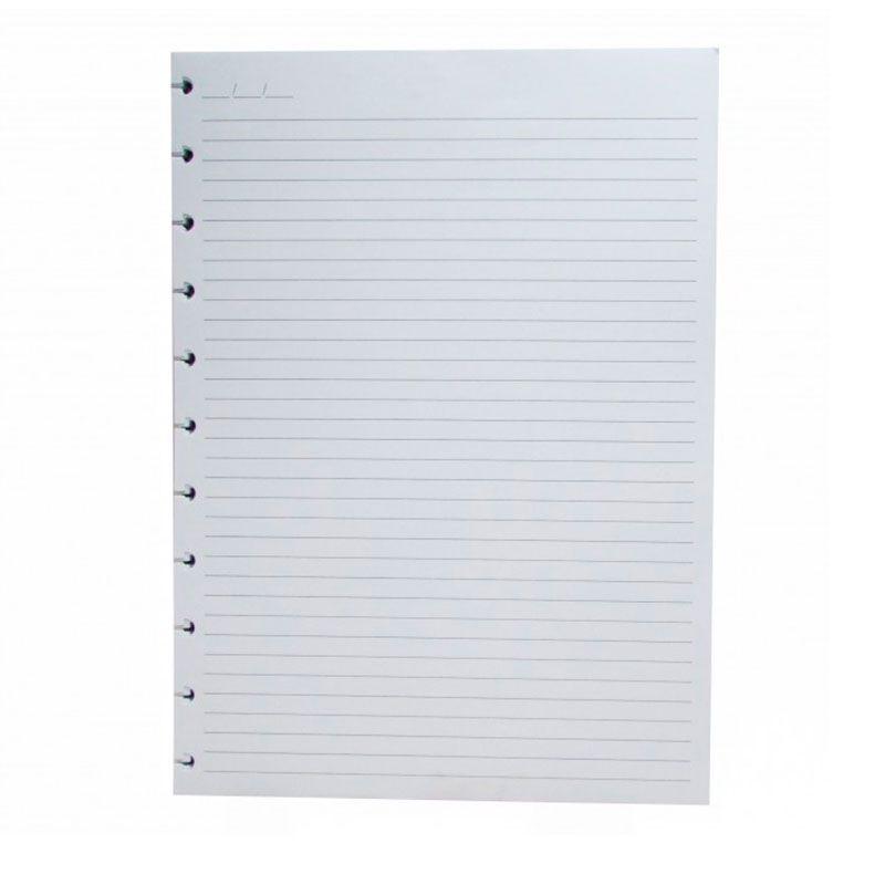 Refil Caderno Inteligente Grande Folhas Com Pauta 90G CIRG4003 27326