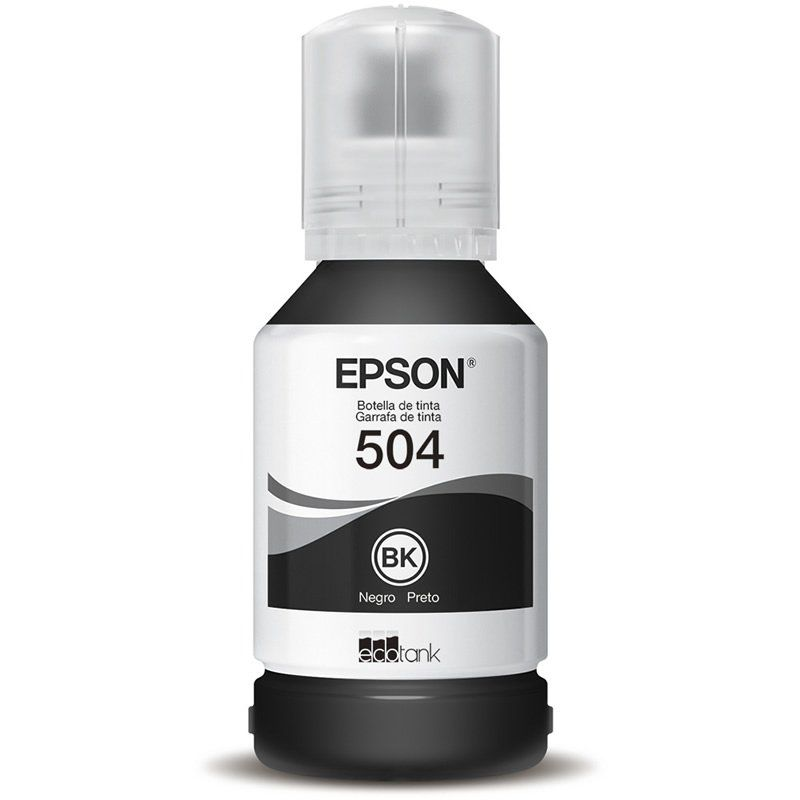 Refil de Tinta Original Epson T504120-AL Preto 25851