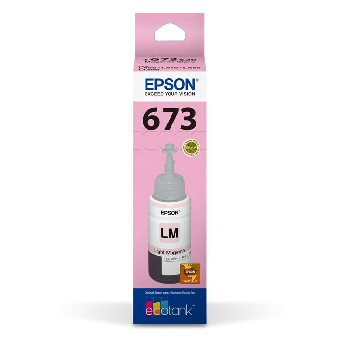 Refil de Tinta Epson T673620-Al Magenta Claro 17180
