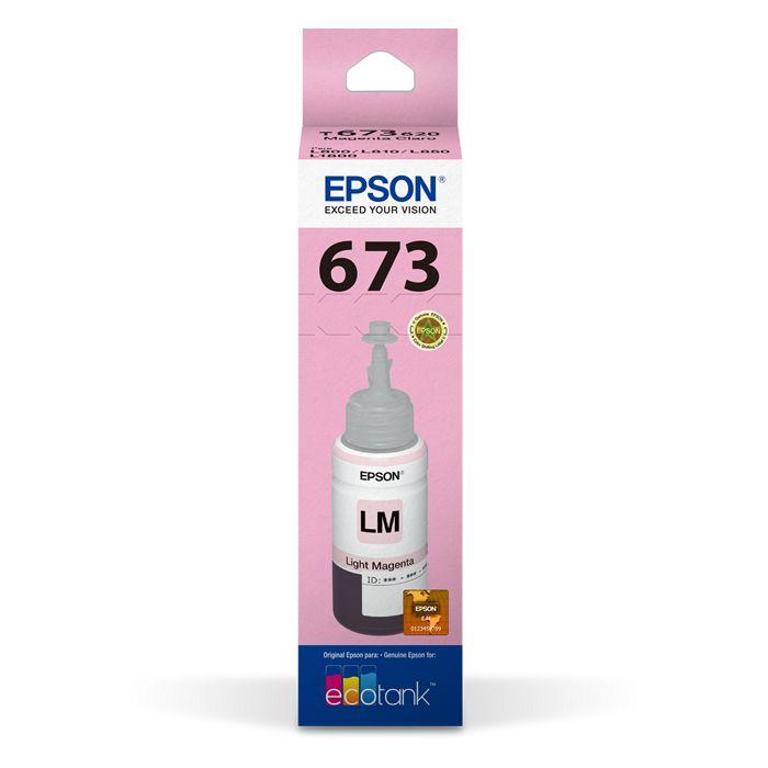 Refil de Tinta T 673 Epson T673620-AL Magenta Claro 17180