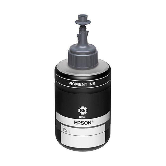 Refil de Tinta Original Epson T774120-AL Preto 18807