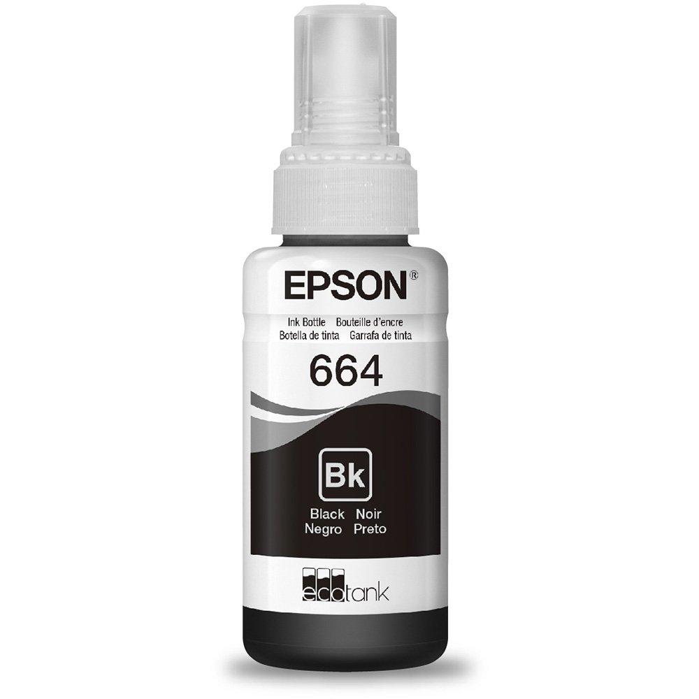 Refil de Tinta T 664 Epson T664120-AL Preto 16873