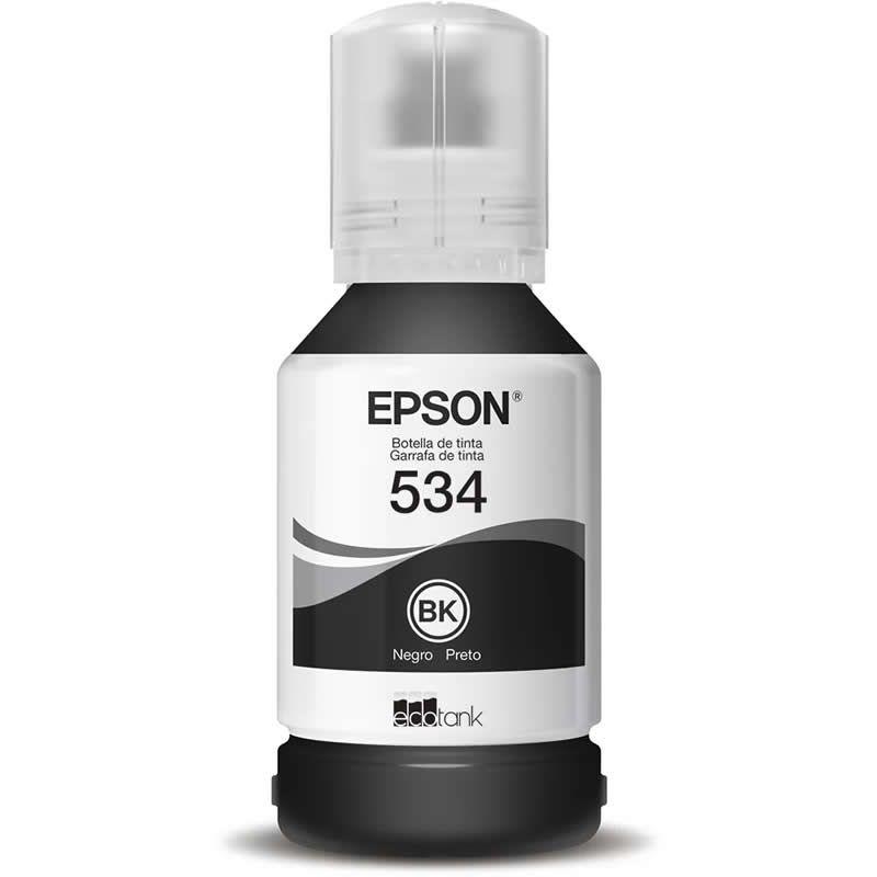Refil de Tinta Original Epson T534120-AL Preto 27532