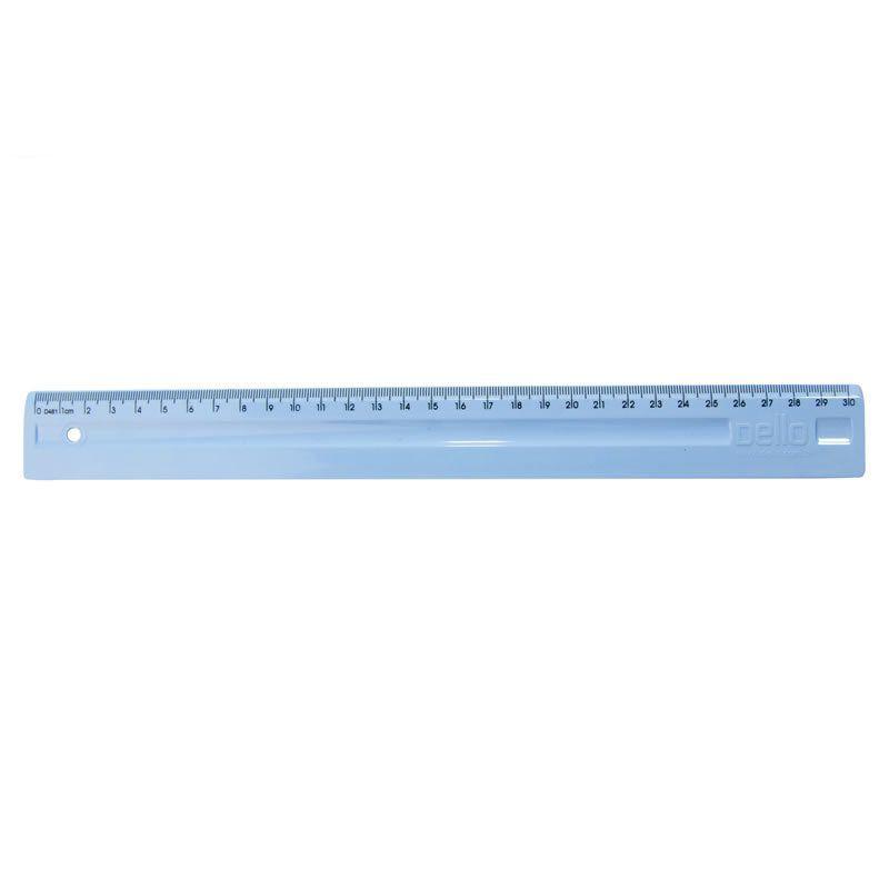 Regua Dello Serena Azul Pastel 30Cm Luxo 3112.BP.0096 26745