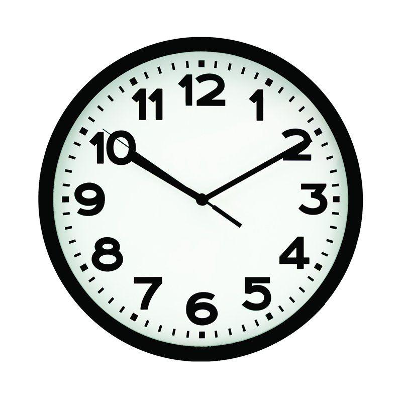 Relógio de Parede Preto 30Cm 17838 Yangzi 25522