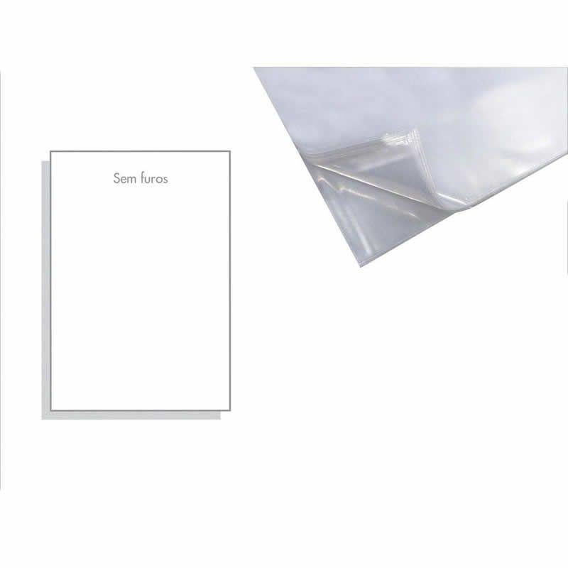 Saco Plastico ACP 0.12 Sem Furo A4 (230X310) Com 100 Un. MG12/100SF 02044