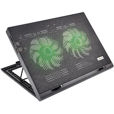 Suporte Multilaser Para Notebook Com Cooler Power Gamer Luminoso Ac267 23018