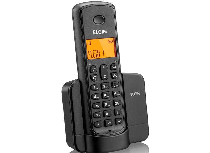 Telefone Elgin S Fio Identificador Chamada/Viva Voz/Preto Tsf8001 24486
