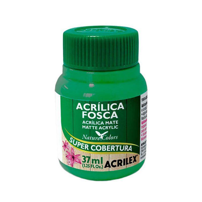Tinta Acrilica Acrilex Fosca 37Ml Verde Folha 510 03540 25291