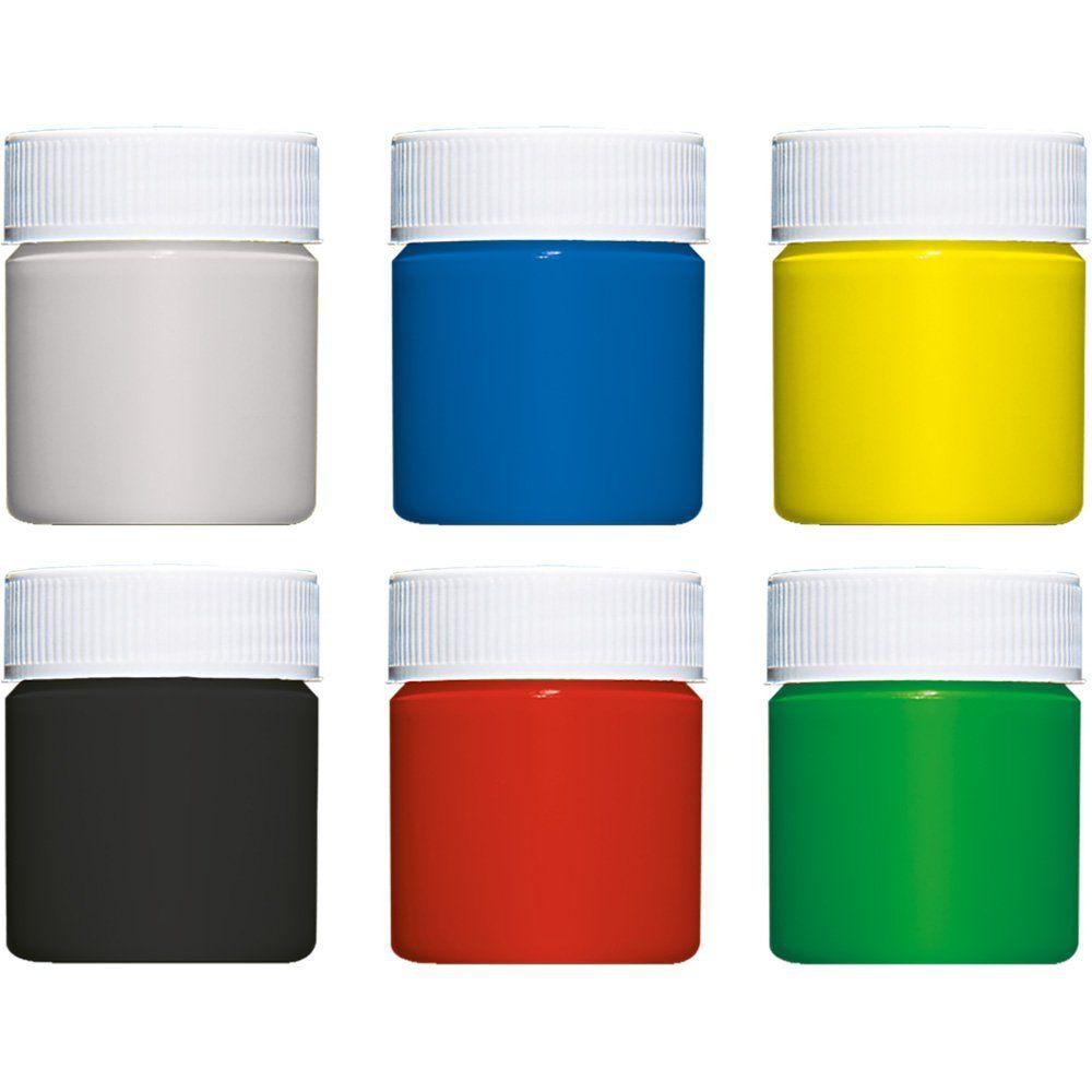 Tinta Guache Faber-Castell 6 Cores Lavavel Ht/161106L 03198