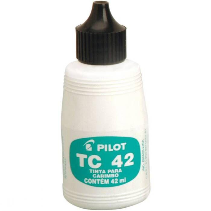 Tinta Preto Para Carimbo 42Ml Pilot 01694
