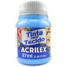 Tinta Tecido Acrilex 37ml Azul Celeste 503 04140 03969