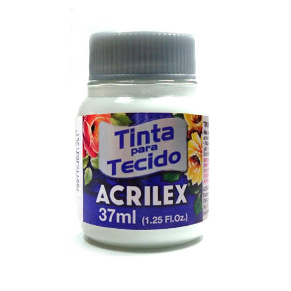 Tinta Tecido Acrilex 37ml Branco 519 04140 04008