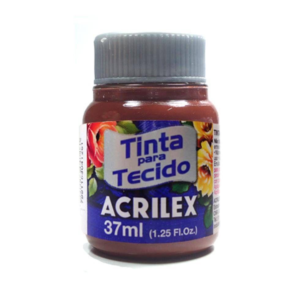 Tinta Tecido Acrilex 37ml Marron 531 04140 03979