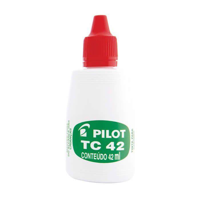 Tinta Vermelho Para Carimbo 42Ml Pilot 01695