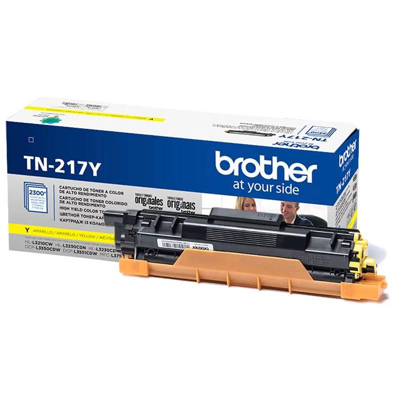 Toner Brother TN-217YBR Amarelo 26854