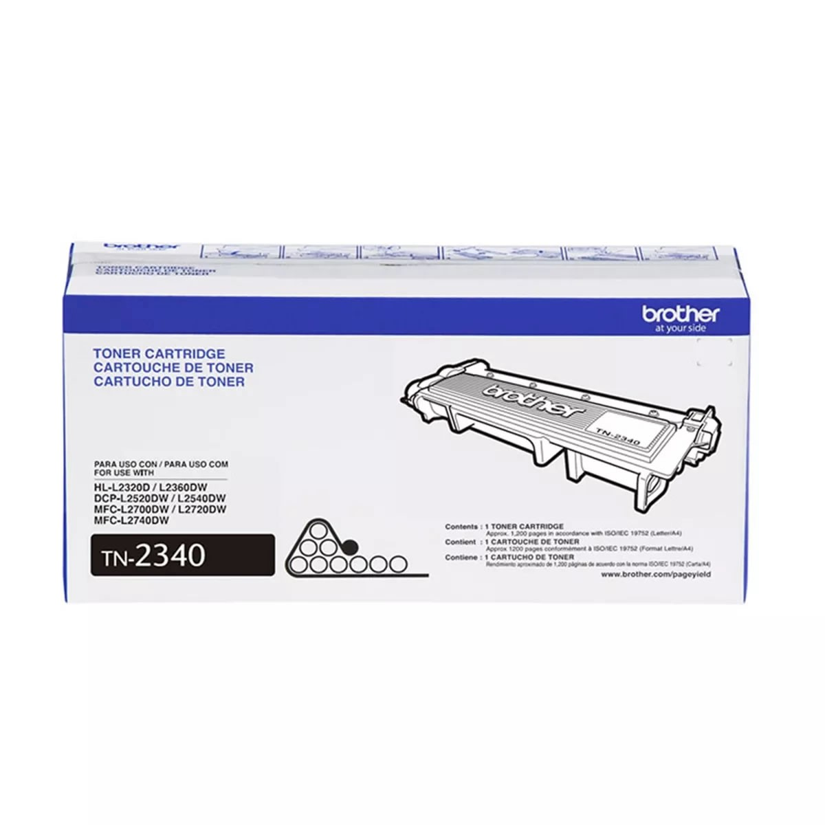 Toner Brother TN 2340 Preto 28644