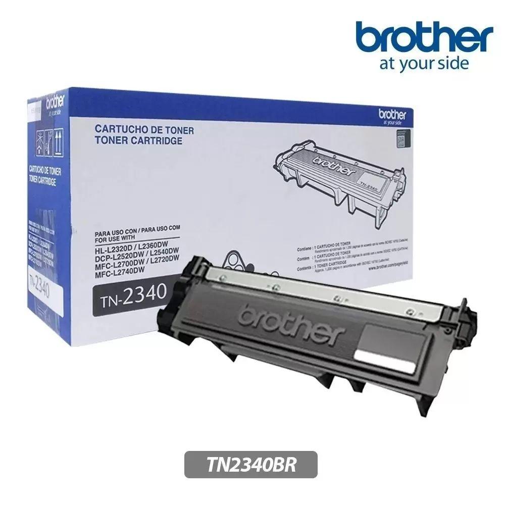 Toner Brother Tn 2340Br Para Hl-L2320D Preto  21639