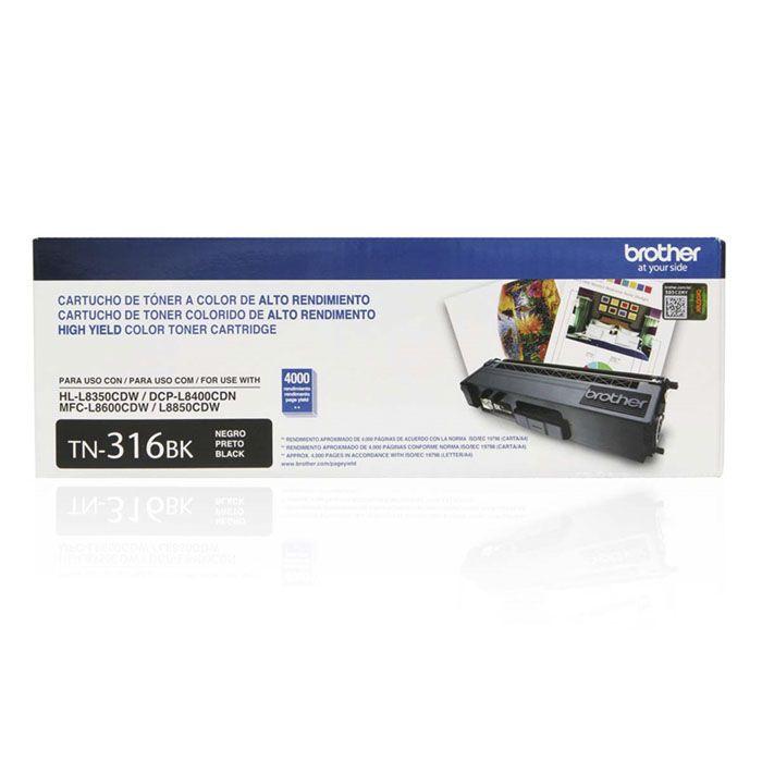 Toner Brother TN-316BK Preto 22628