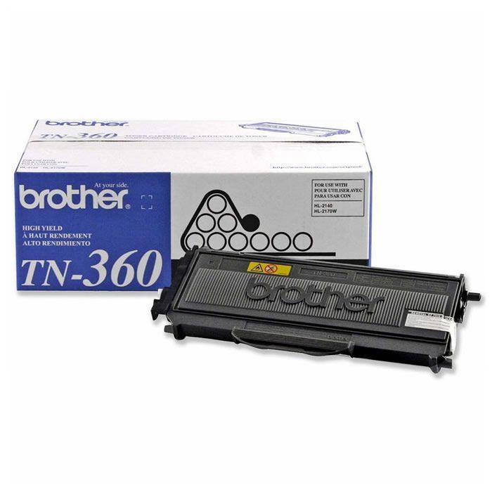 Toner Brother TN 360 Preto 17428