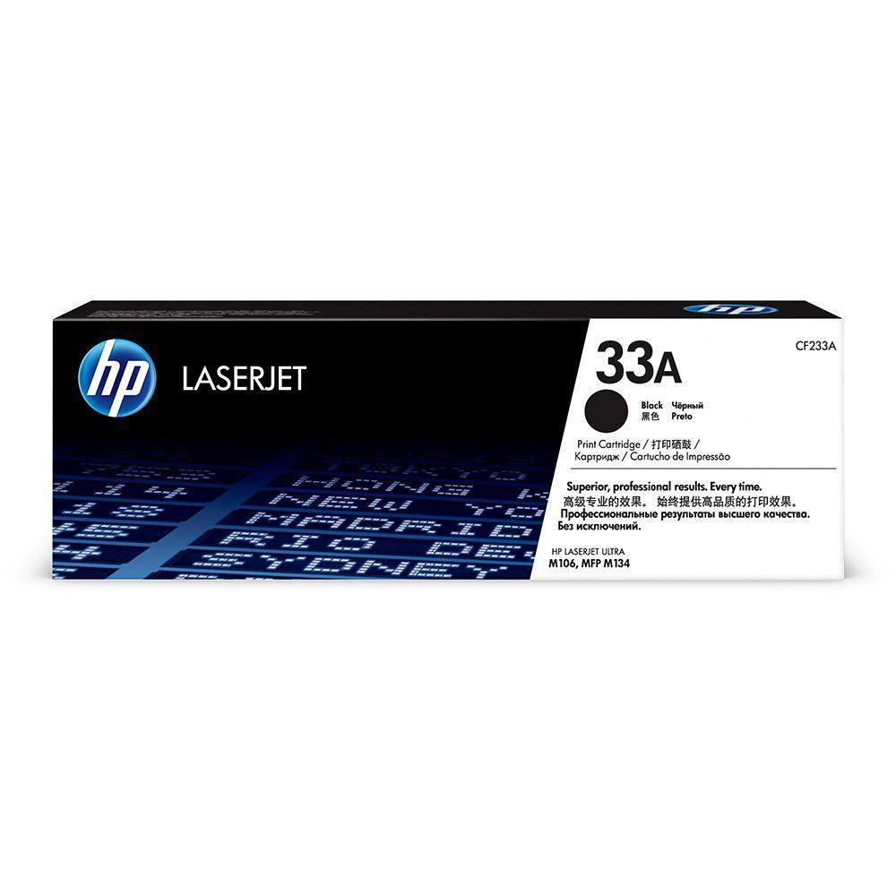 Toner HP 33A Preto Laserjet Original (CF233A) 24449
