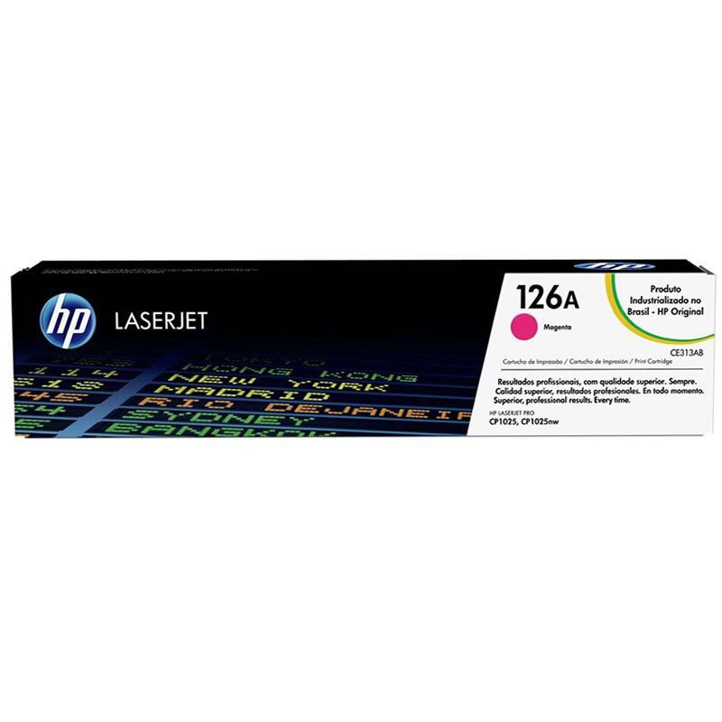 Toner HP 126A CE313A Magenta 15542