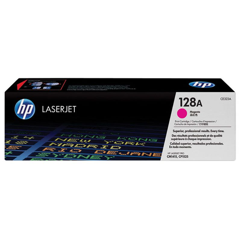 Toner HP 128A Magenta Laserjet Original (CE323AB) 20579