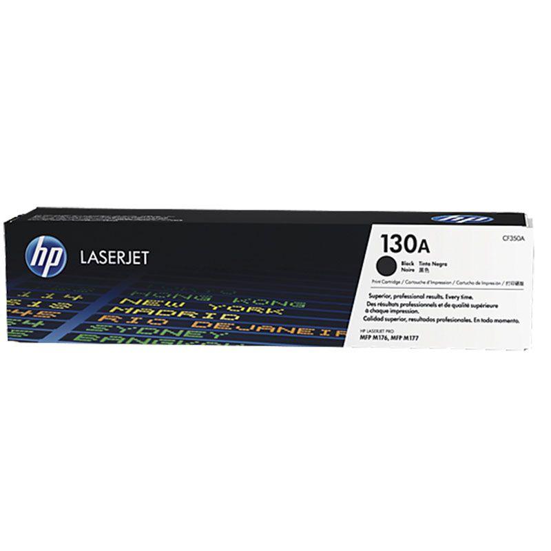Toner HP 130A Preto Laserjet Original (CF350AB) 23085
