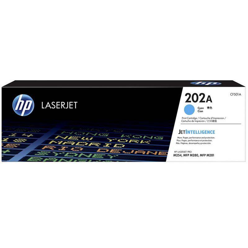 Toner HP 202A Ciano Laserjet Original (CF501A) 25817
