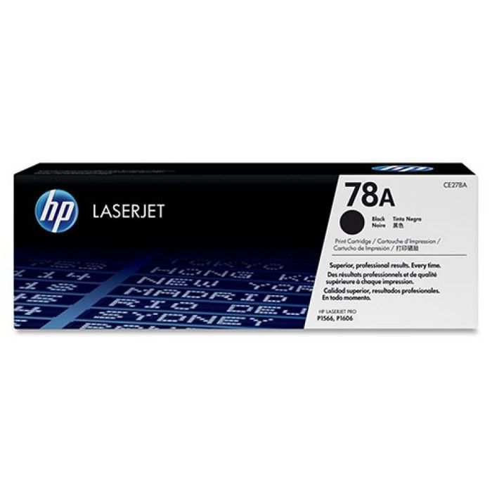 Toner HP 78A CE278AB Preto 20575