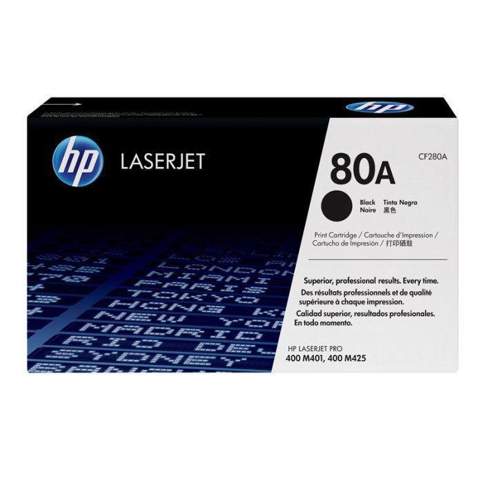 Toner HP 80A Preto Laserjet Original (CF280AB) 22028