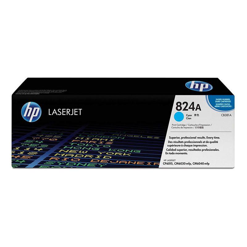 Toner HP 824A Ciano Laserjet Original (CB381A) 11757