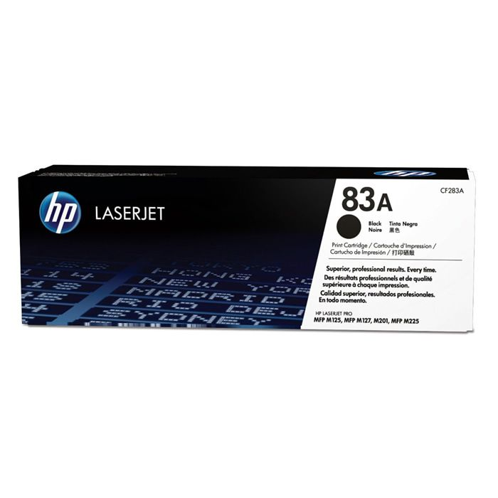 Toner HP 83A Preto Laserjet Original (CF283AB) 22014