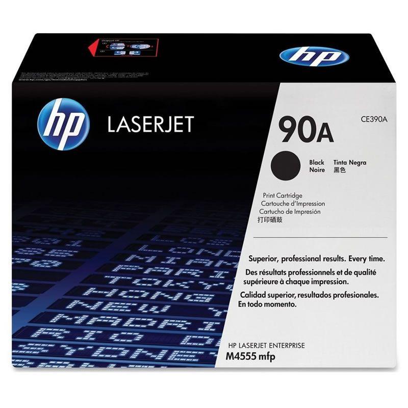 Toner HP 90A Preto Laserjet Original (CE390AB) 23080