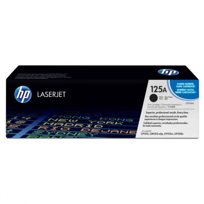 Toner HP 125A Preto Laserjet Original (CB540AB) 16084
