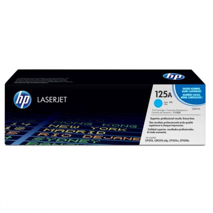 Toner HP 125A Ciano Laserjet Original (CB541AB) 16376