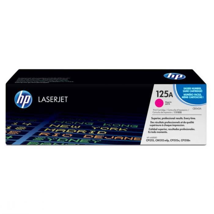 Toner HP 125A Magenta Laserjet Original (CB543AB) 16085