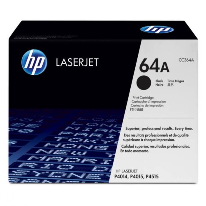 Toner HP 64A Preto Laserjet Original (CC364AB) 16605